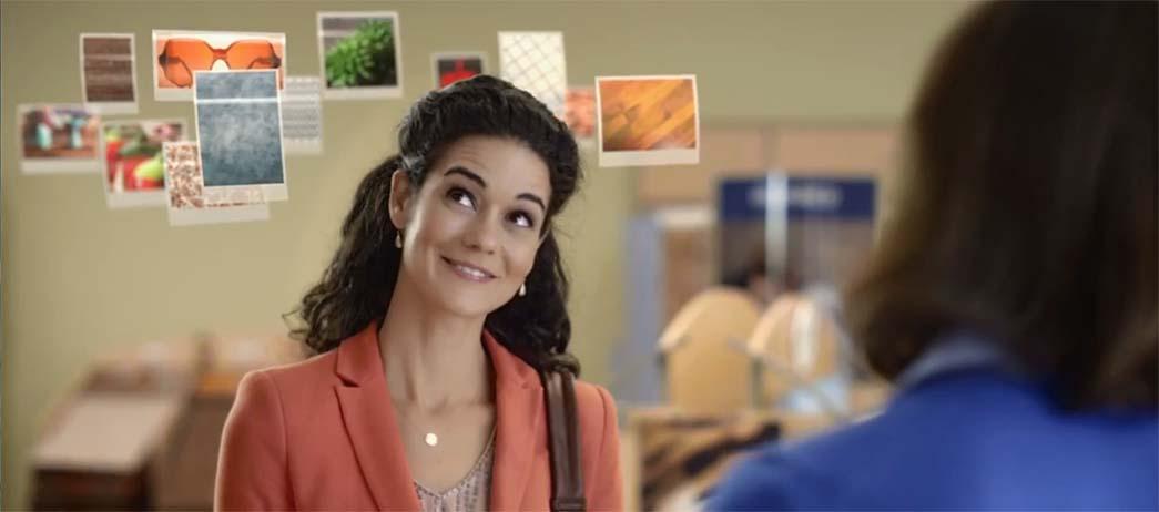 Carpet One TV Commercial Still Frame